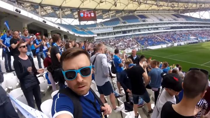 «Все футболисты пьют, но беспалевно»: блогер внедрился в ряды волгоградских фанатов