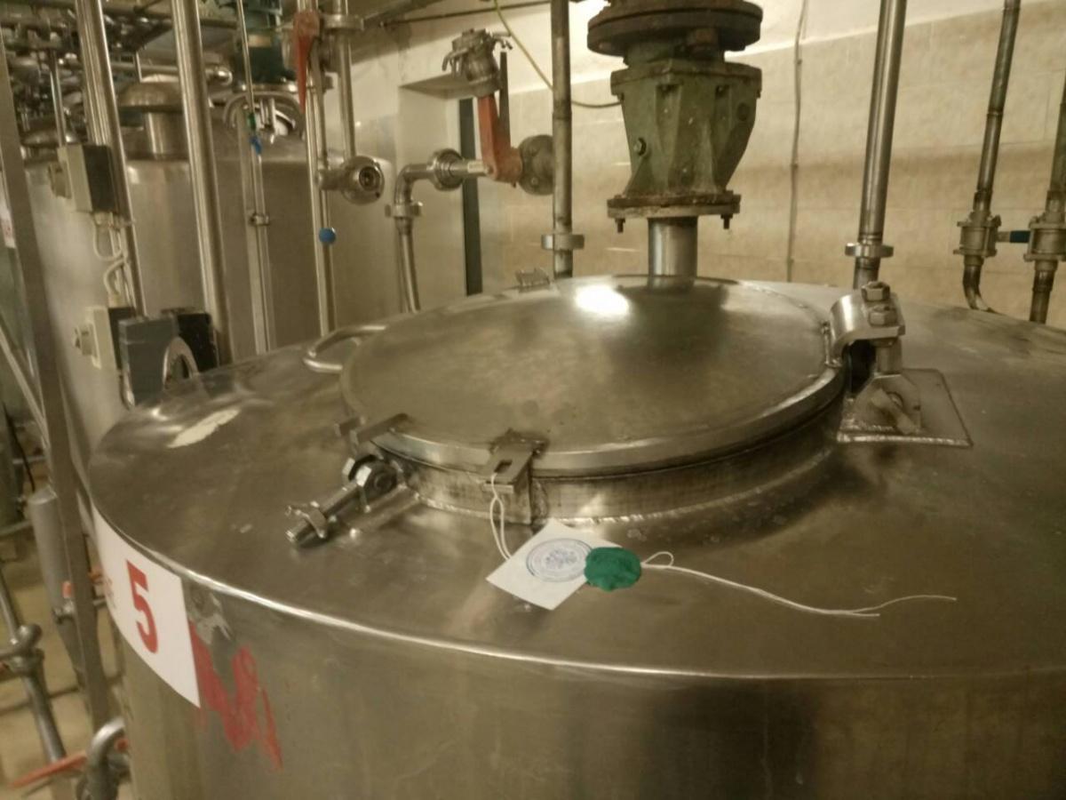 Одним из нарушений стало отсутствие маркировки на танках с молочной продукцией