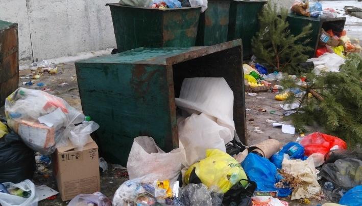 «Чисто не там, где убирают»: дворы Калача-на-Дону продолжают тонуть в тоннах мусора