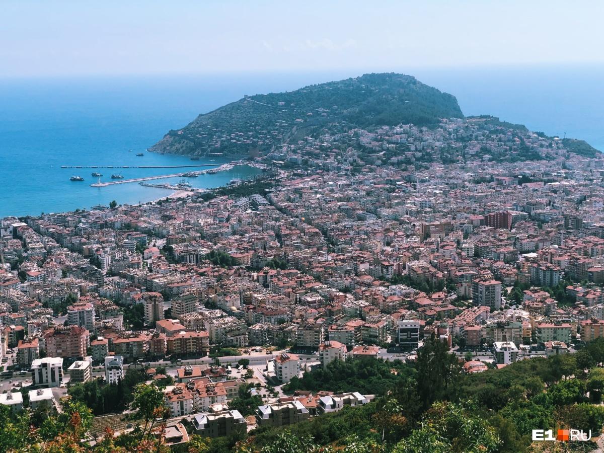Так город выглядит с высоты