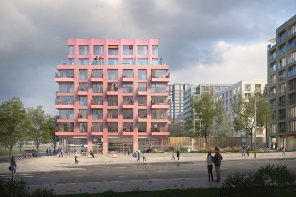 Проект голландского бюро. Урбан-виллы строят в Новосибирске впервые