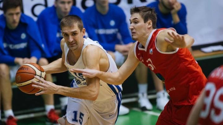Баскетбол: БК «Новосибирск» выиграл у «Спартак-Приморье» в Суперлиге