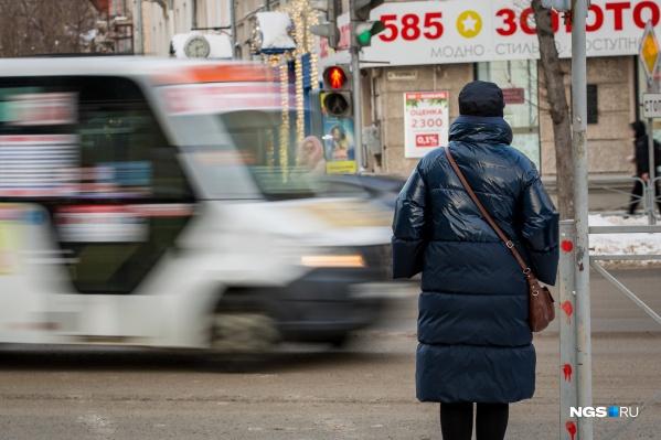 Сейчас в Новосибирске порядка 500 маршруток