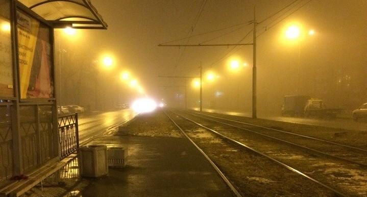 Екатеринбург исчез: ночью город окутал густой туман