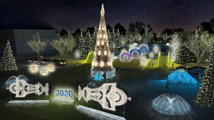 Стало известно, кто заплатит за новогоднее украшение Уфы и Стерлитамака