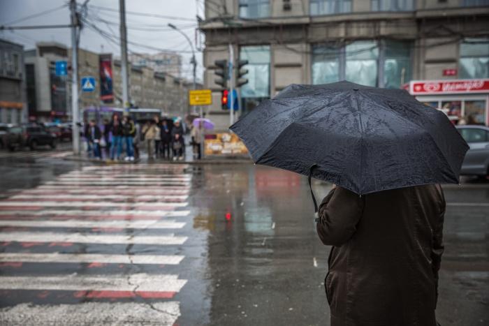 В Новосибирской области будут идти дождь и снег