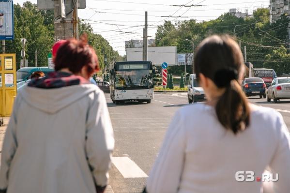 В Самаре усилят работу общественного транспорта