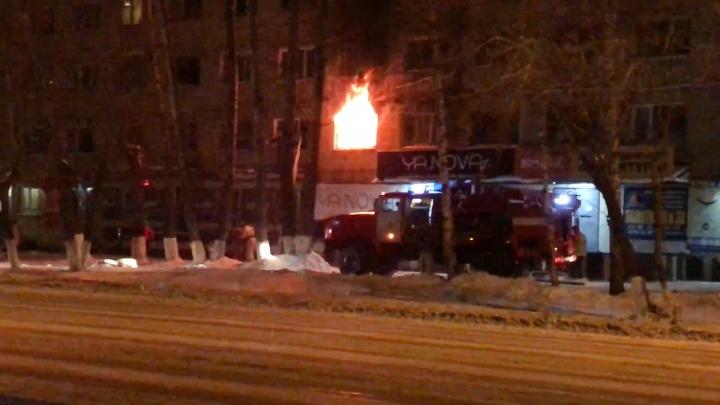«Стёкла сыпались на голову, кошки задохнулись»: жильцов общежития на Южном Урале спасли из огня