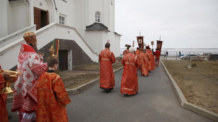 Из-за крестного хода 14 октября в центре Архангельска закроют для движения часть улиц