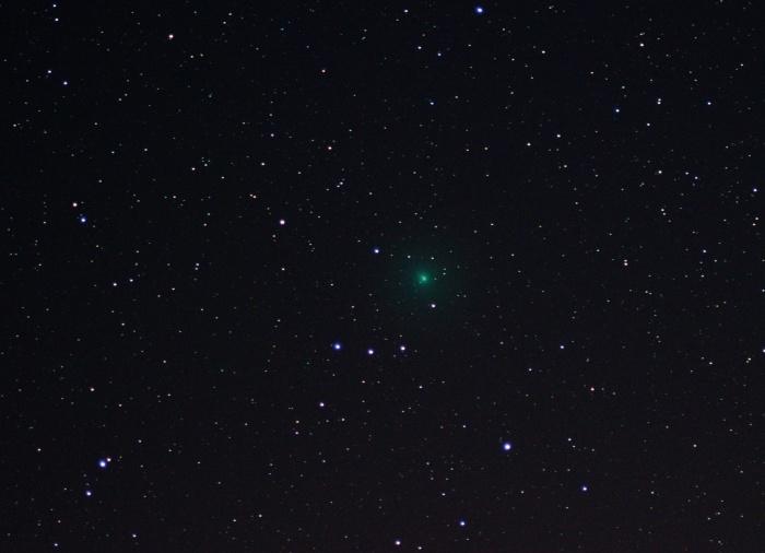 На небе комету можно заметить невооруженным глазом