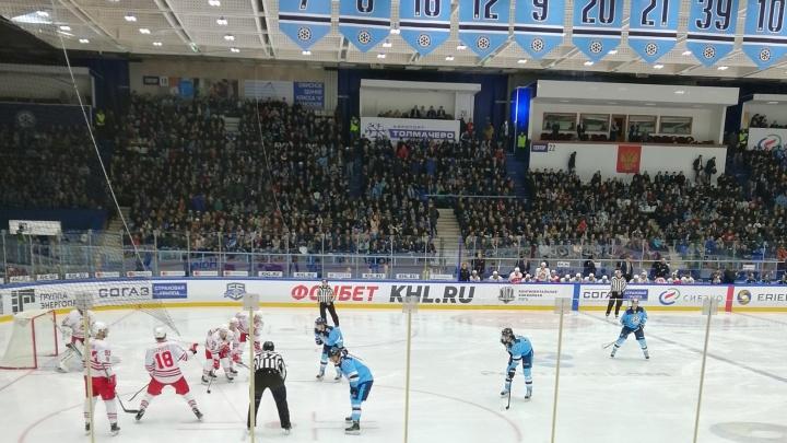 Хоккей: «Сибирь» победила хельсинкский «Йокерит»