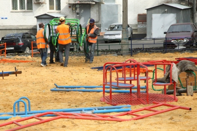 К работам по благоустройству подрядчики приступят уже в июне