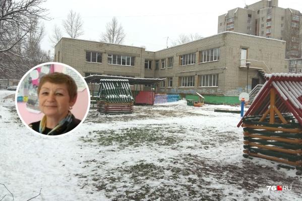 Воспитательница Елена Новожилова больше не работает в детском саду