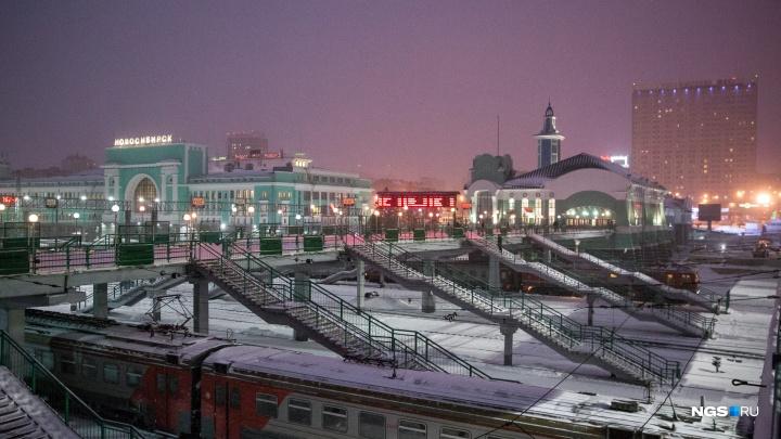 Один пассажир помешал другому спать на вокзале Новосибирск-Главный и получил удар ножом