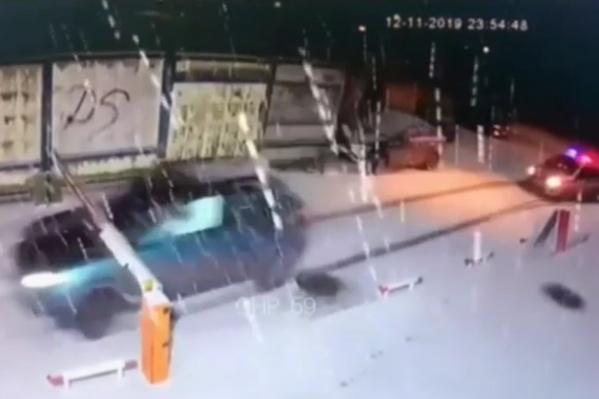 Водитель пытался скрыться от ДПС