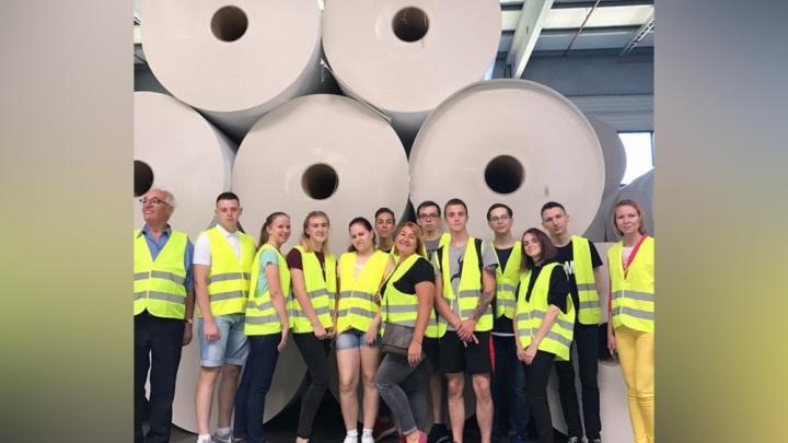 Студенты Новодвинского индустриального техникума побывали на стажировке в Австрии