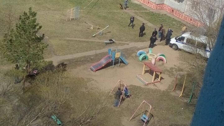 Под окнами дома на улице Лукашевича нашли тело младенца