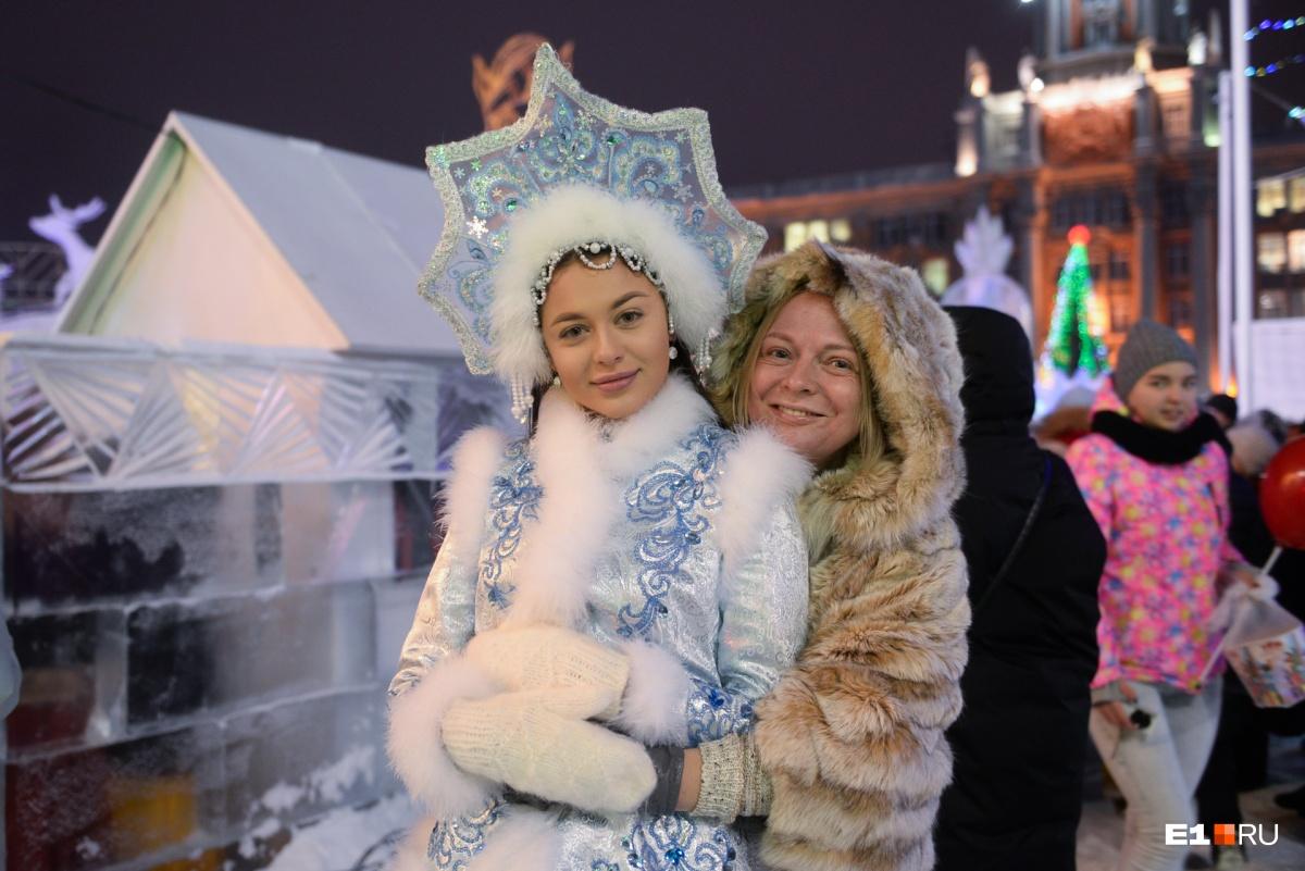 Снегурочкой была Арина Верина — Мисс Екатеринбург — 2018