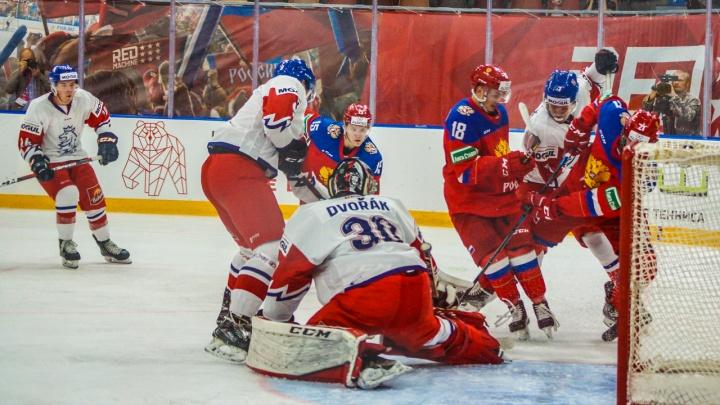 В Перми стартовал Турнир четырех наций: на лед выйдут молодежные сборные по хоккею четырех стран