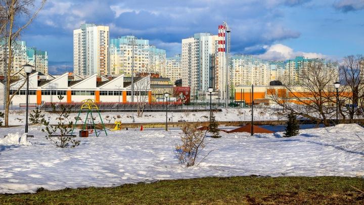 Фото дня. Весна наступает зиме на пятки в НижнемНовгороде