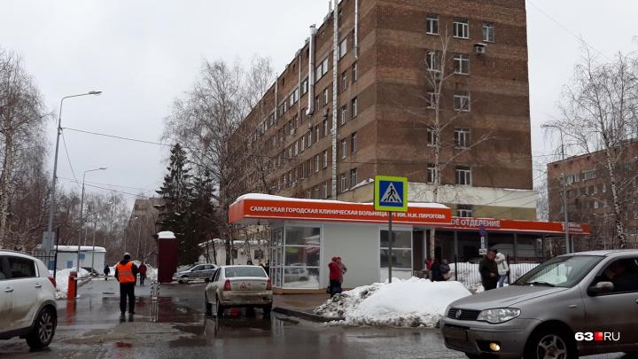При провале асфальта на проспекте Ленина в кипяток угодили двое прохожих