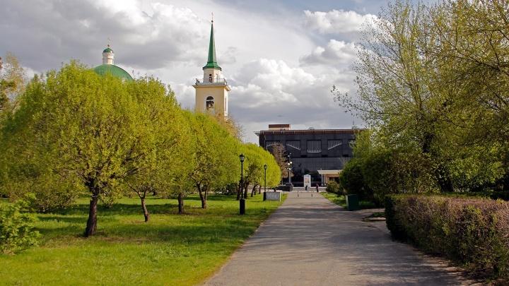 Две весны: сравниваем Омск в апреле и мае