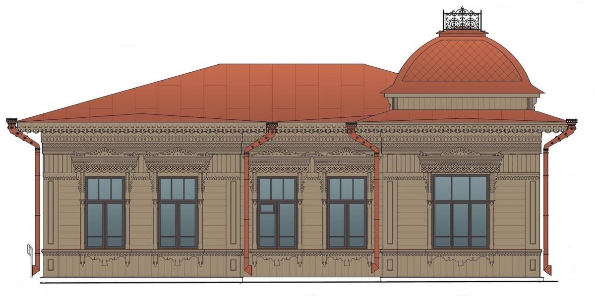 Таким дом станет после реставрации