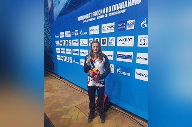 Виталина Симонова привезла из Москвы две медали