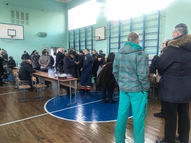 Пункт эвакуации работает в магнитогорской школе № 14