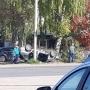 «Лег» на крышу: в Октябрьском водитель перевернулся на легковушке