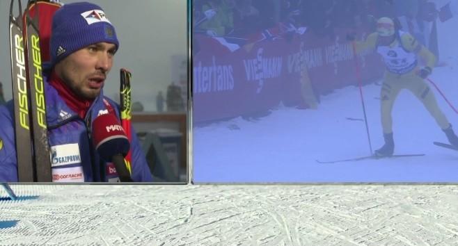 Антон Шипулин остановился в шаге от медали на этапе Кубка мира по биатлону