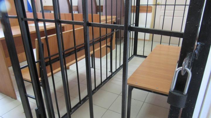 За нападение на полицейского жительнице Куртамыша назначили год и месяц исправительной колонии