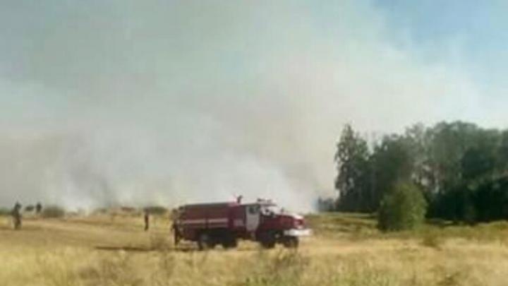 Вслед за Сибирью: в Башкирии горит лес. Огонь занял площадь 106 футбольных полей