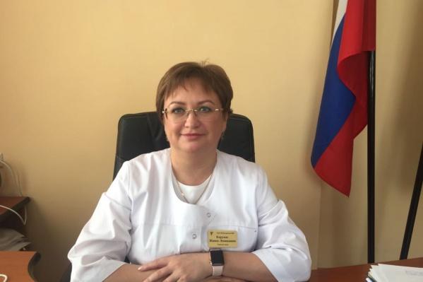 Жанна Карунас работает в Иглинской ЦРБ 20 лет, в кресле главврача с 2016 года