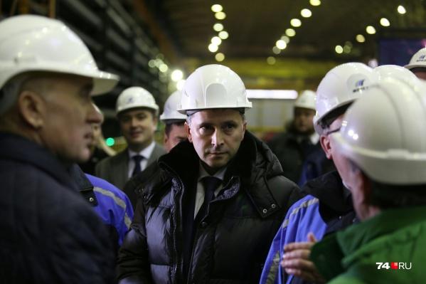 Одними из главных пунктов визита Дмитрия Кобылкина в Челябинск стали предприятия группы «Мечел»