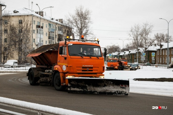 ООО «Севдорстройсервис» будет убирать улицы Архангельска до конца 2019 года