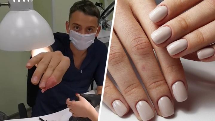 «Делать ногти — это адский труд»: история мужчины из Ростова, который ушел со стройки в маникюрщики
