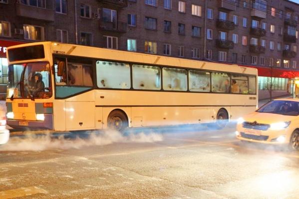 Предприятие перевозило красноярцев по 4 маршрутам