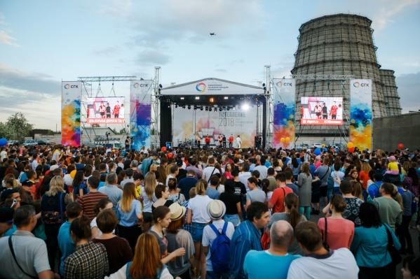 Фото сделано в прошлом году на фестивале «Потепление» в Барнауле