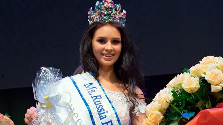 18-летняя студентка ОмГУ стала лучшей в регионе на конкурсе «Мисс Земля»
