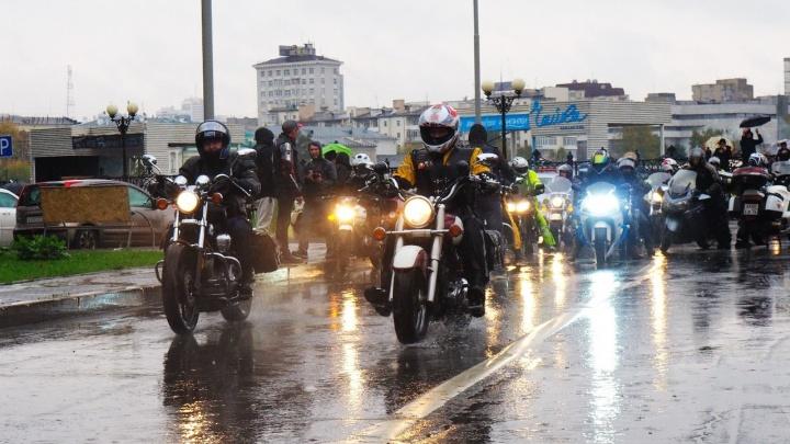 В субботу центр города перекроют ради мотопробега «#ГородАнгелов»