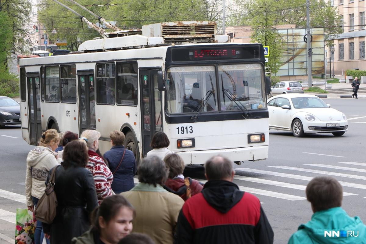 Поменяется схема движения троллейбусов поМосковскому шоссе вНижнем Новгороде
