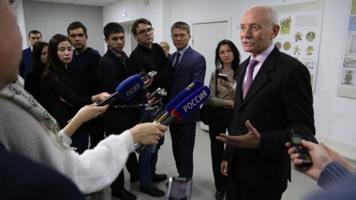 Рустэм Хамитов рассказал о визите президента в башкирскую столицу