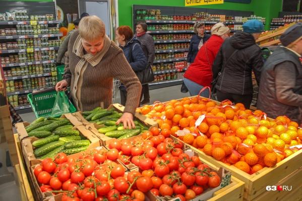 Некоторые овощи на прилавках оказались опасны