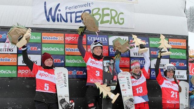 Красноярская сноубордистка Алена Заварзина взяла серебро на Кубке мира