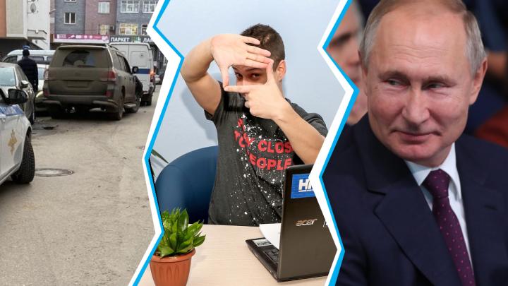 Дичь недели: внедорожник-таран, троллинг Путина и суровый воронежский футбол