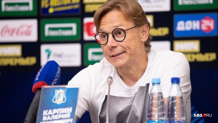 Карпин может перейти из ФК «Ростов» в «Спартак»