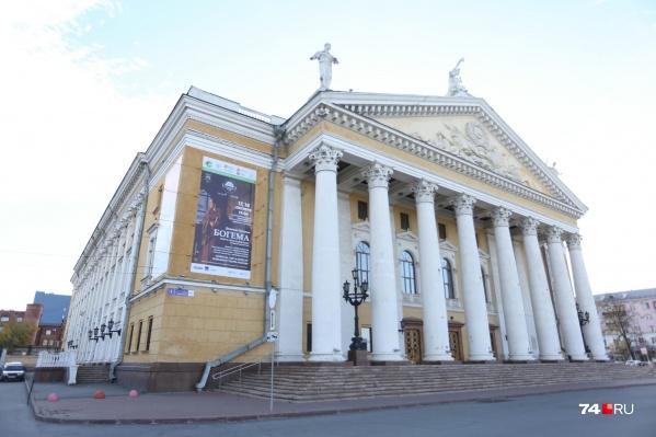 Двухэтажный пристрой появится рядом с основным зданием челябинской оперы