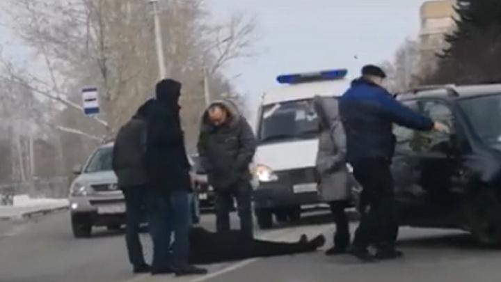 На Берёзовой водитель Toyota сбил пешехода на «зебре»