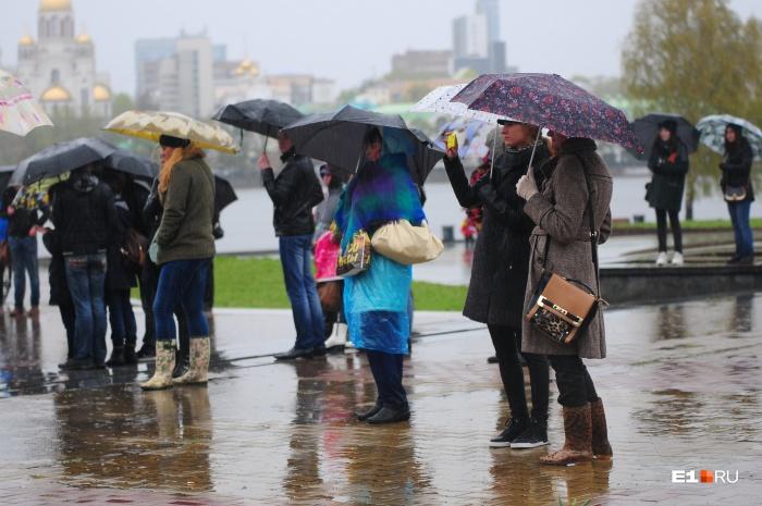 Дожди сменятся снегом во второй половине октября